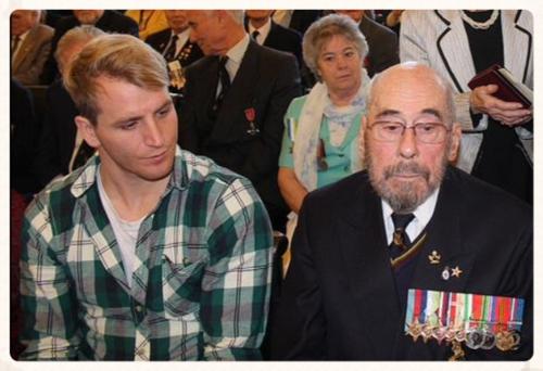 Ushakov Medal Ceremony ~ Exeter 19.12.14