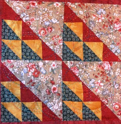 JULY 15 millquilt flight of swallows