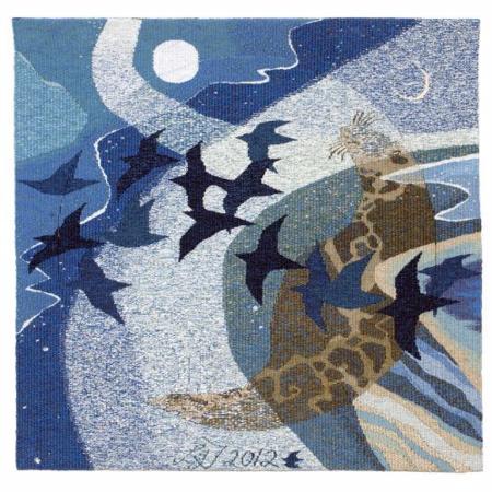 Hoxa tapestry Leila Thomson