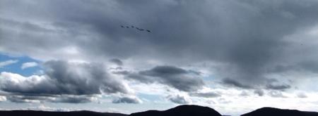 Orkney 2012 hoy + sky+ geese