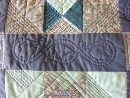 April 16 quilting stitch