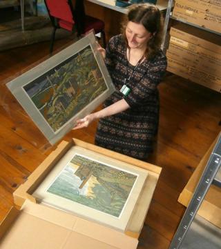 Rena Gardiner archive