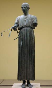 The delphic charioteer