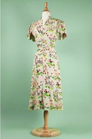 Day dress 1945 Roddis family collection