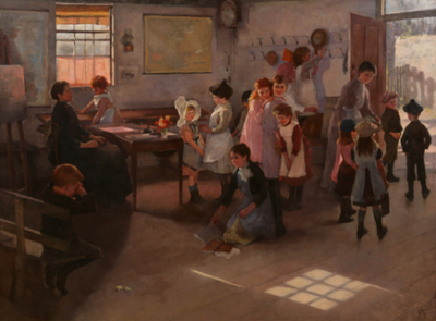 School is Out ~ Elizabeth Forbes