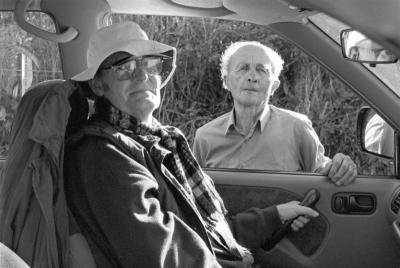 James Ravilious and Bill Hammond © Chris Chapman, September 1999
