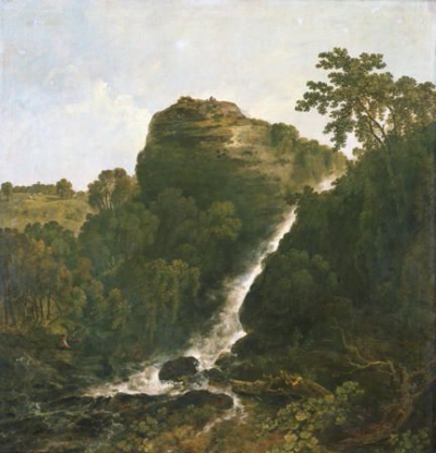 Lydford Waterfall