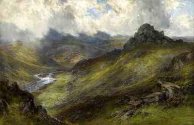 Moorland Scene ~ FJ Widgery