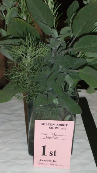 Winning herb combo