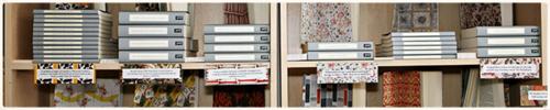 Persephone books - shelf