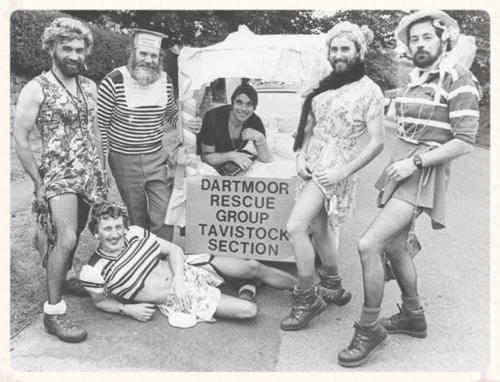 Dartmoor Rescue Group summer uniform