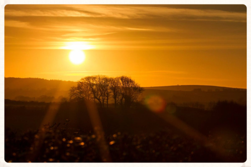 December sunset  © Tommy Hatwell