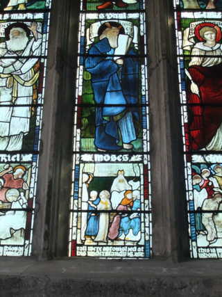 William Morris window, Tavistock