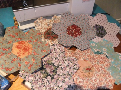 Quilt hexagons ALL