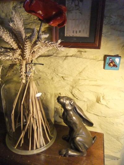 My bronze hare...