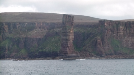 Orkney 2012 old man of hoy 2