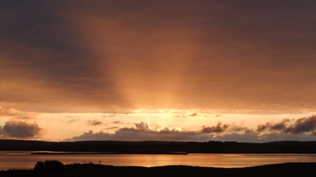Orkney 13 sunset
