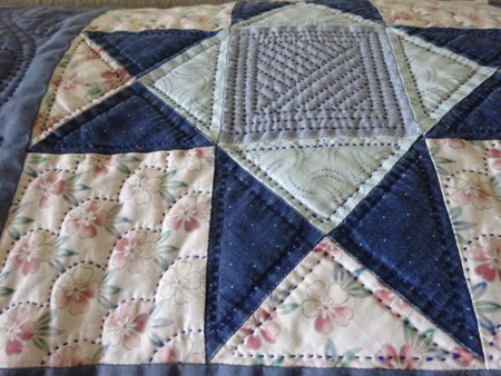 April 16 quilting stitch