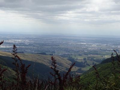 NZ 2016 View from the Port Hills, Christchurch