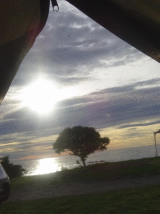 Kaikoura from my tent