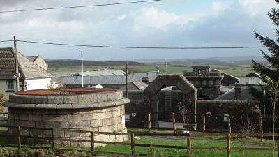 Dartmoor Prison gate