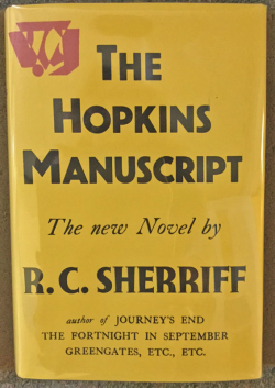 The Hopkins Manuscript (picture from Surrey Archive)