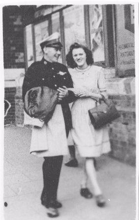 Vera & Len - Shore Leave 1947