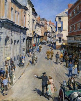 Causewayhead, Penzance 1943 ~ Stanhope Forbes