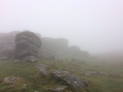 May 17 misty dartmoor