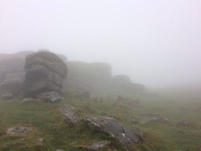 May 17 misty dartmoor