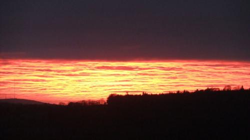 February sunset..