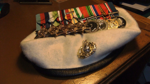 The Tinker's medals polished...