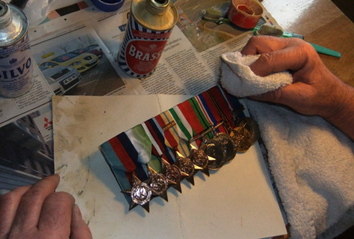 Polishing the Tinker's medals...