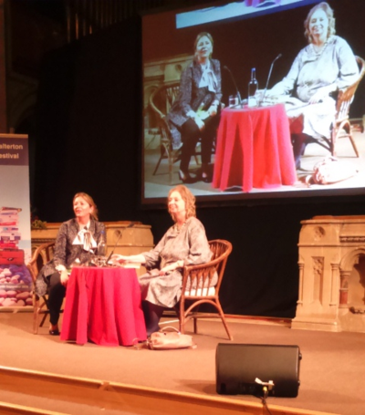 Hilary Mantel at Budleigh Sept 2015