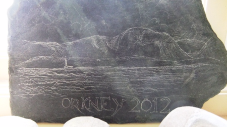 Orkney 2012 stone picture