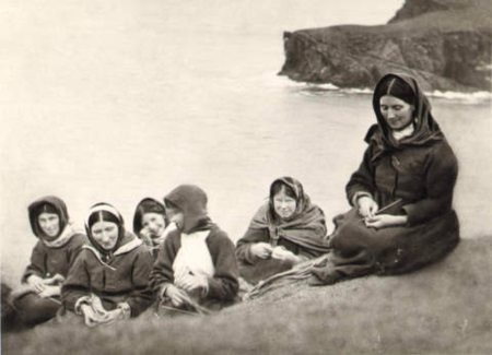 St Kilda Women  (National Trust for Scotland)