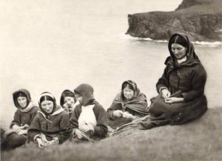St Kilda Women  (National Trust for Scotland)