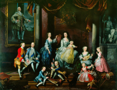 The Family of Frederick Prince of Wales