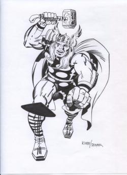 Thor ~ Jack Kirby