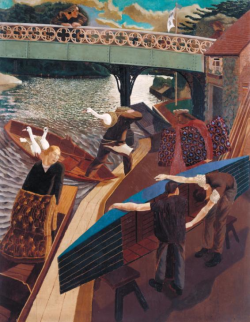 Swan Upping at Cookham ~ Stanley Spencer
