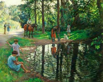 The Pond ~ Stanhope Forbes