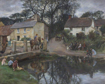Stanhope Forbes ~ VILLAGE RENDEZVOUS