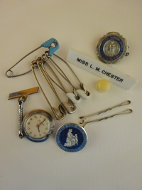 A paediatric nurse's paraphernalia...