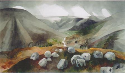 Dartmoor 1974 - Edward Burra (c. RAMM Exeter)
