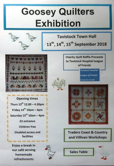 Goosey Quilters Exhibition
