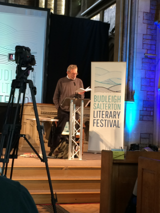 Michael Rosen at Budleigh Lit Fest