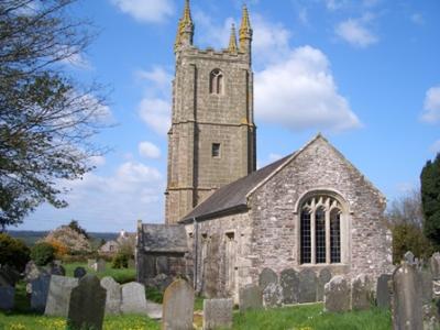 Sydenham Damerel church