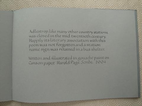 Adlestrop (illus Harold Page)