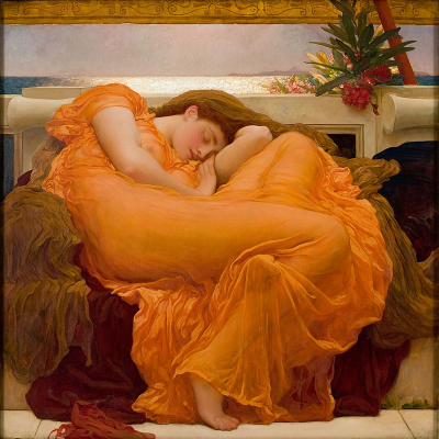 800px-Flaming_June _by_Frederic_Lord_Leighton_(1830-1896)