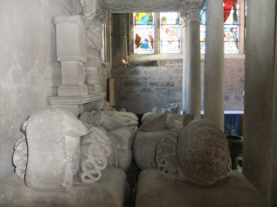 The Fitz Monument, Tavistock Parish Church